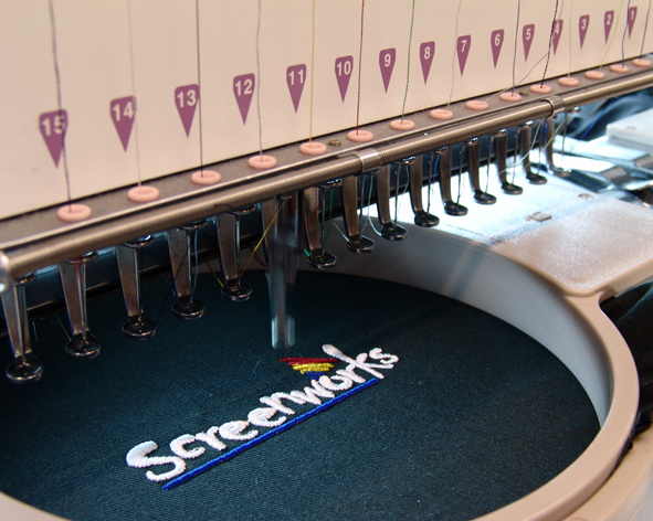 Converting images to embroidery